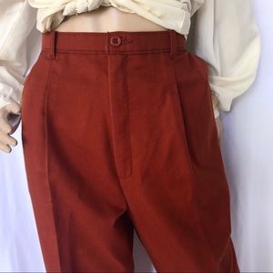 VINTAGE Levi's High waisted pleated front pants